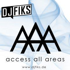 DJ FIKS – AAA Access All Areas Vol.1